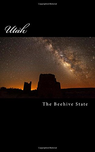 Utah- The Beehive State- A 5 x 8 Blank Journal journals diary notebooks  ebook by Travel Books