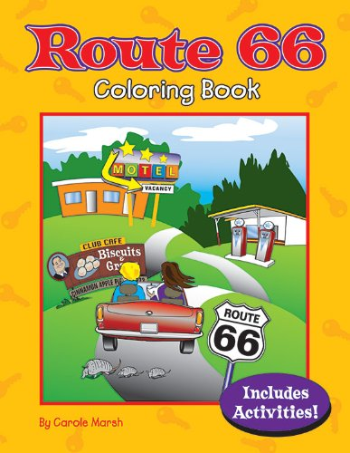 Route 66 Coloring Book Non-State  ebook by Carole Marsh