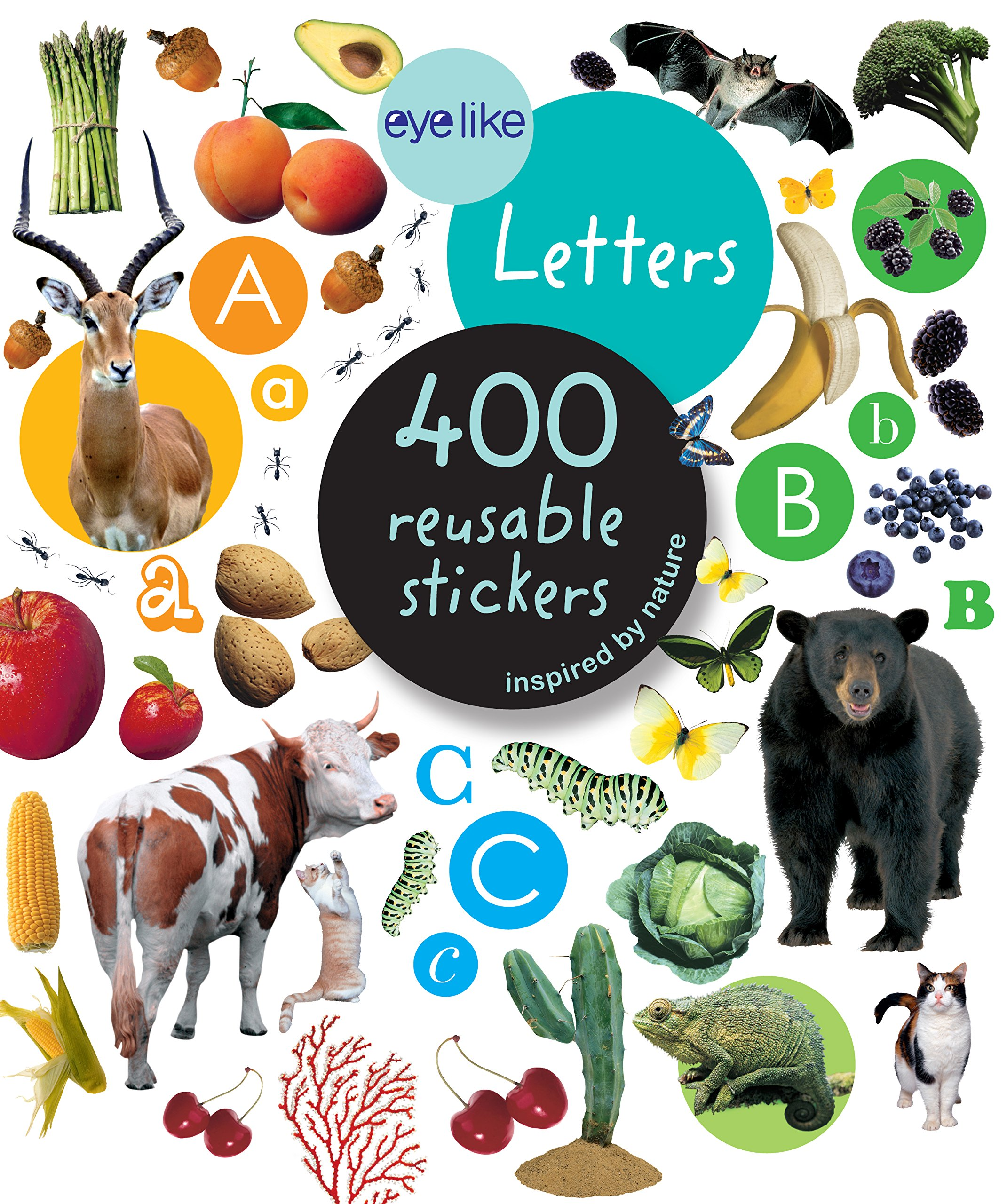 Eyelike Stickers- Letters ebook by Workman Publishing